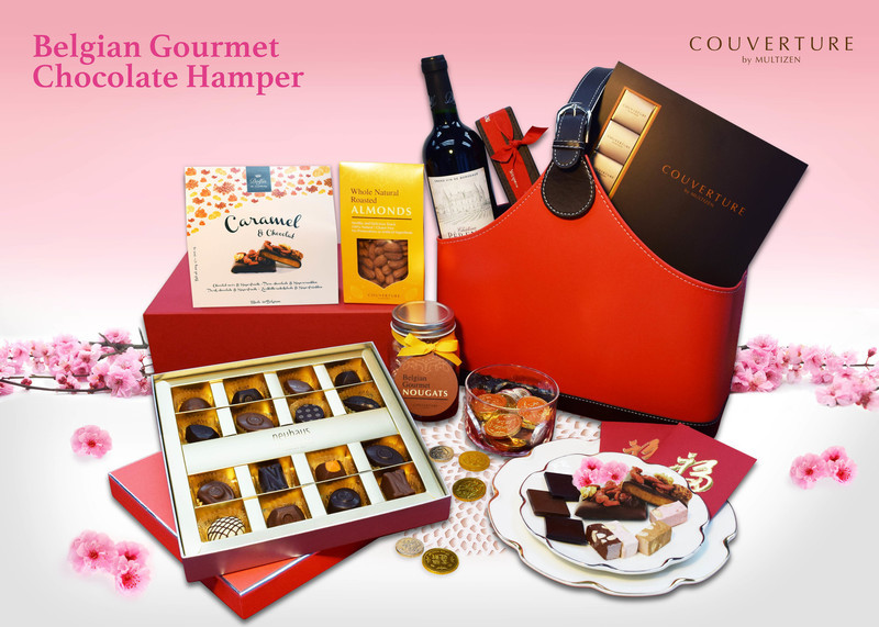 Belgian Gourmet Chocolate Hamper