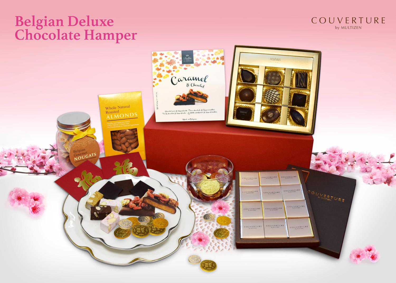 Belgian Deluxe Chocolate Hamper