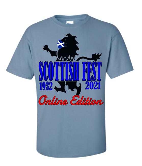 Scottish Fest Online Two Shirt Donation Bundle