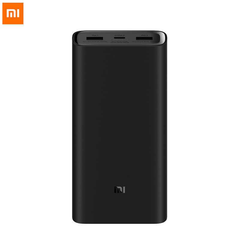 Аккумулятор Xiaomi Mi Power Bank 3 Pro 20000 (Черный)