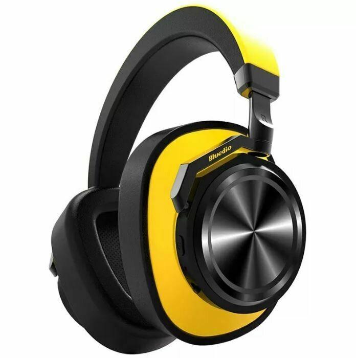 Наушники Bluedio T7 (Желтый)