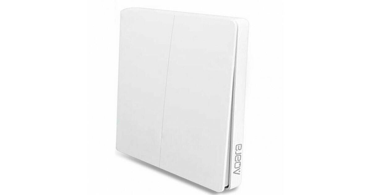 Выключатель с электронной коммутацией Aqara WXKG02LM (Белый)