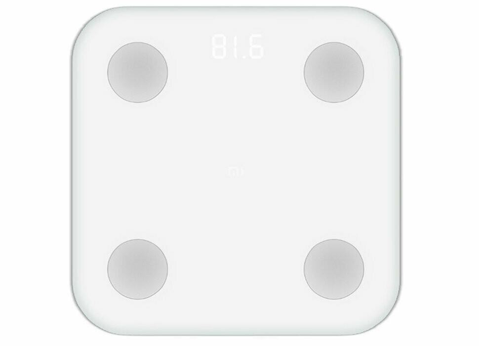 Умные весы Xiaomi Mi Body Composition Scale 2 (белый) (XMTZC05HM)