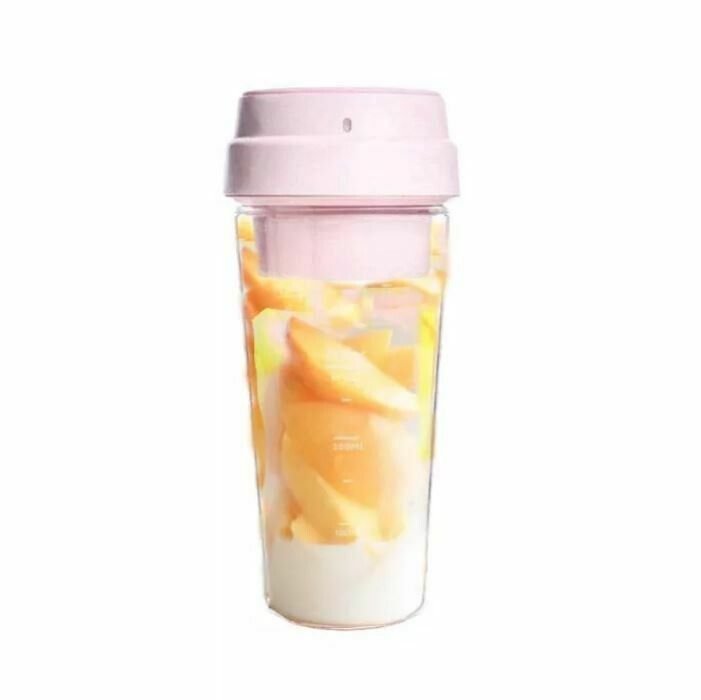 Портативный блендер Xiaomi 17PIN Star Fruit Cup (Розовый)