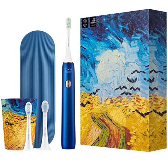 Зубная электрощетка X3U Soocas & Van Gogh Museum Design (Cиний)