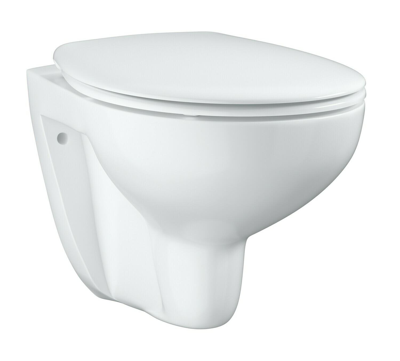 Унитаз подвесной безободковый GROHE Bau Ceramic 39351000