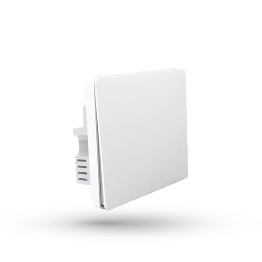 Настенный выключатель Aqara Wall Light Switch One Button Edition (QBKG21LM) (одинарный, c нулевой линией, белый)
