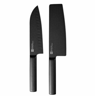Набор ножей Xiaomi Huo Hou Black Heat Knife Set (2 шт.)