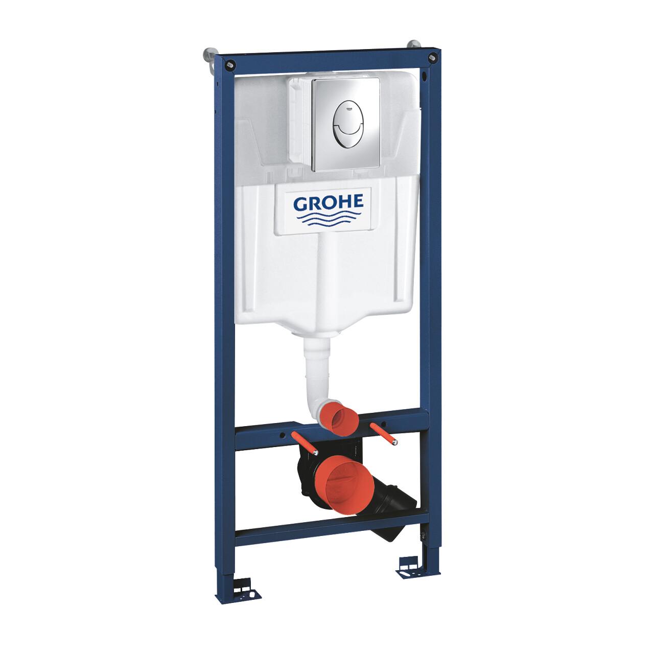 Инсталляция для унитаза подвесного стандартная GROHE Rapid SL 38721001
