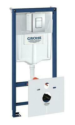 Инсталляция для унитаза подвесного стандартная, комплект GROHE Rapid SL 38775001