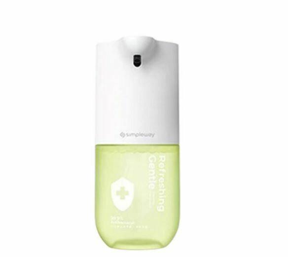 Сенсорная мыльница simpleway Automatic Induction Waching Machine (300 мл, антибактериальное мыло) Зеленый