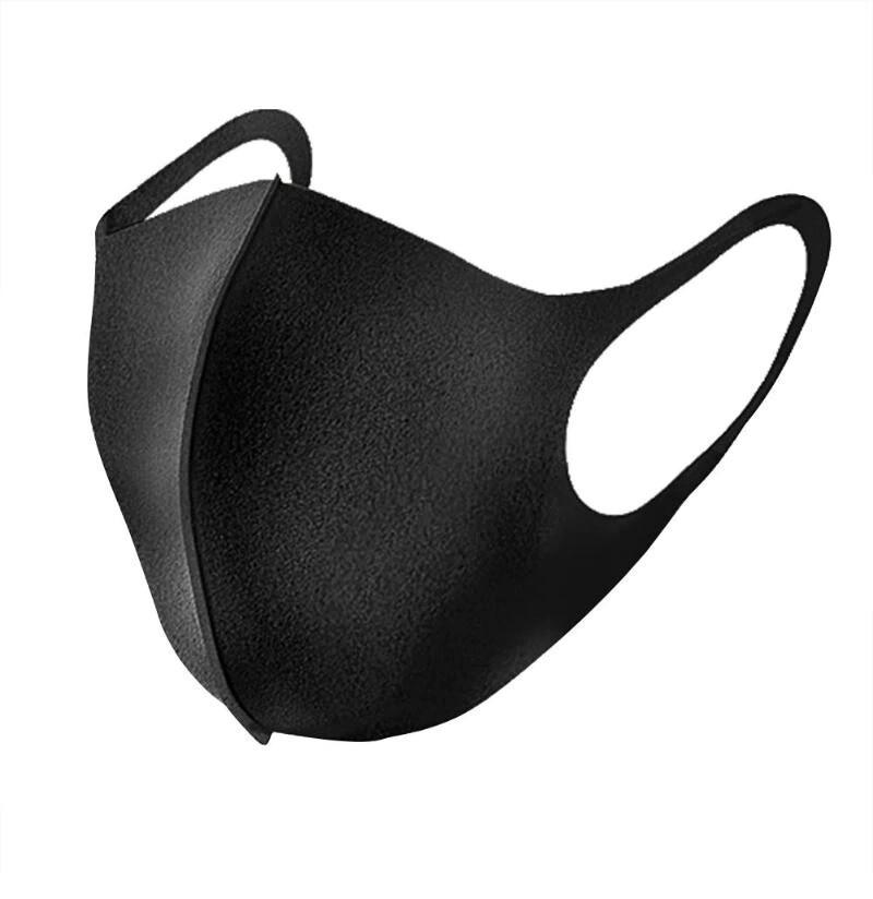 Маска неопреновая многоразовая Texture Mask (Черный)