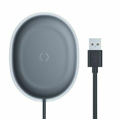 Беспроводное зарядное устройство Baseus Jelly Wireless Charger 15W Black (WXGD-01)