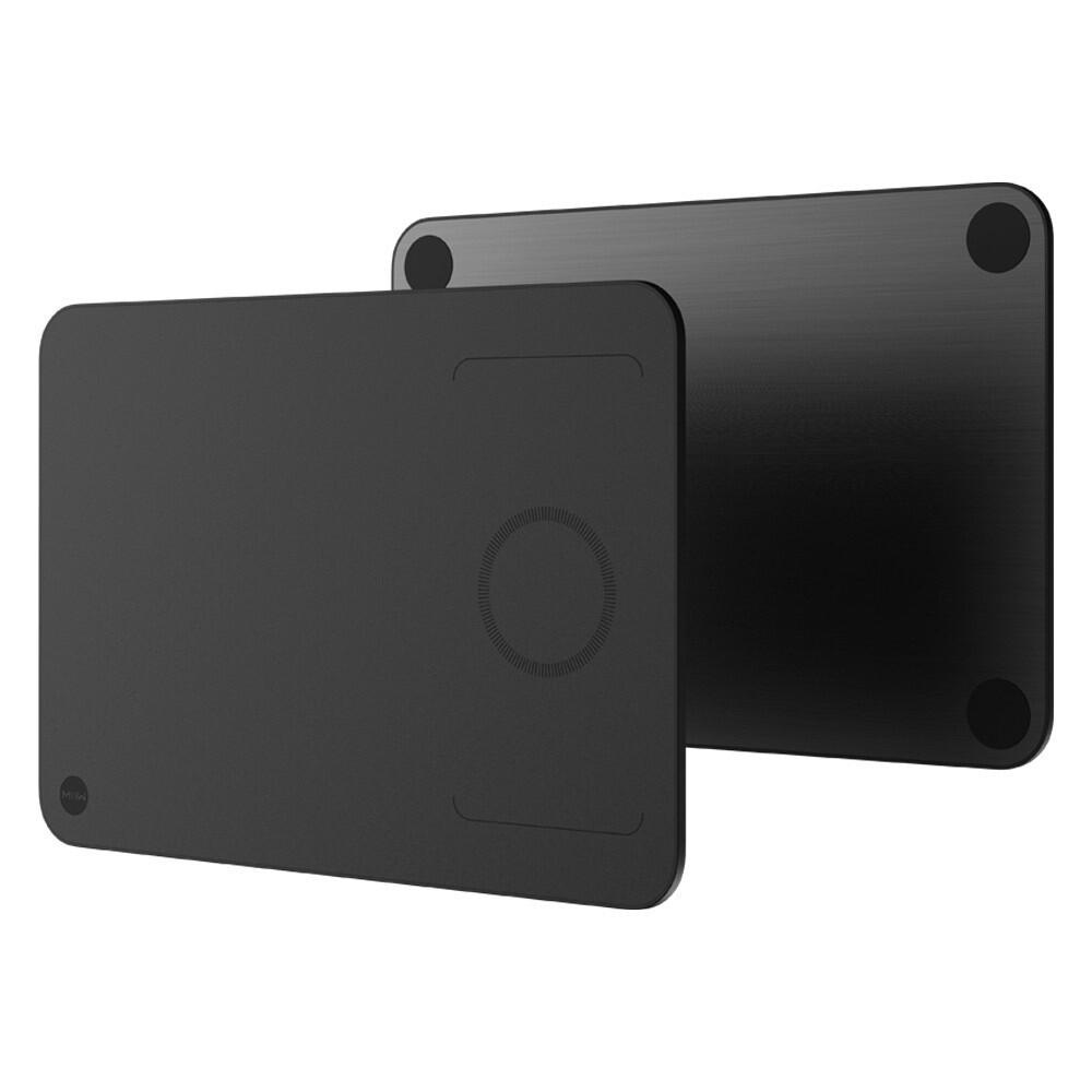 Коврик для мыши Xiaomi MIIIW Wireless Charging Mouse Pad с беспроводной зарядкой (с кабелем, черный)  MWWCP01