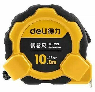 Измерительная рулетка Deli Steel Tape Measure (10 м) DL3799