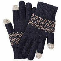 Перчатки Xiaomi для сенсорных экранов FO Touch Wool Gloves 160/80 (Синий)