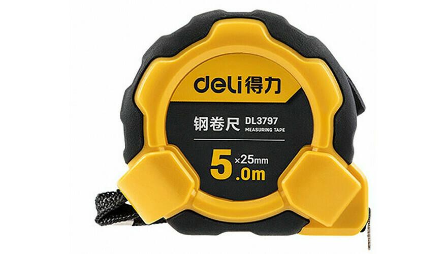 Измерительная рулетка Deli Steel Tape Measure (5 м) DL3797