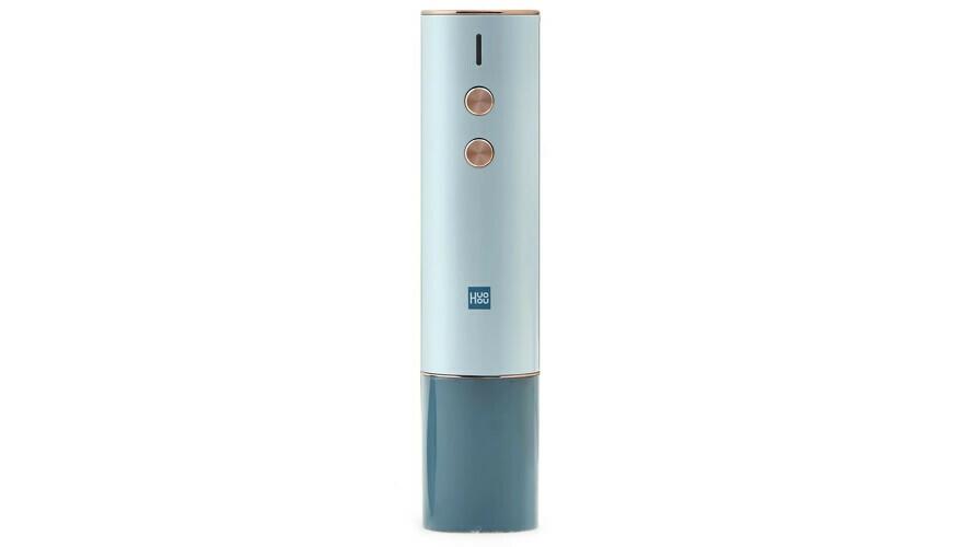 Электрический штопор Huo Hou Electric Wine Opener Gift Box (Голубой) (HU0122)