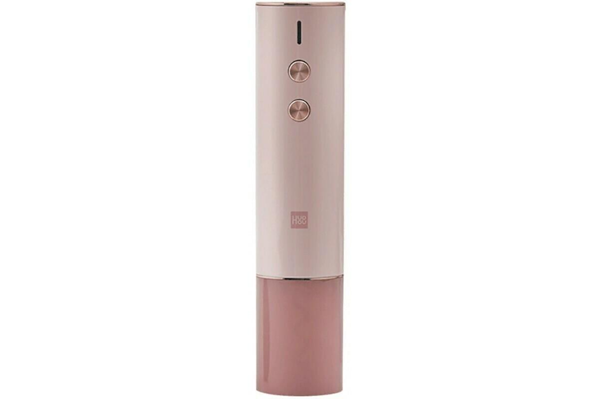 Электрический штопор Huo Hou Electric Wine Opener Gift Box (розовый) (HU0121)
