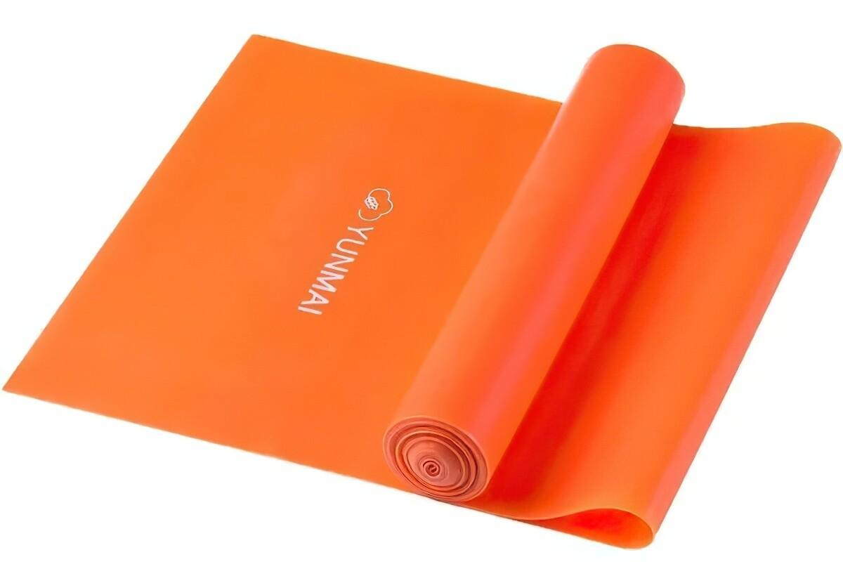 Эластичная лента для йоги и пилатеса Yunmai Stretch Belt 15lb (оранжевый)