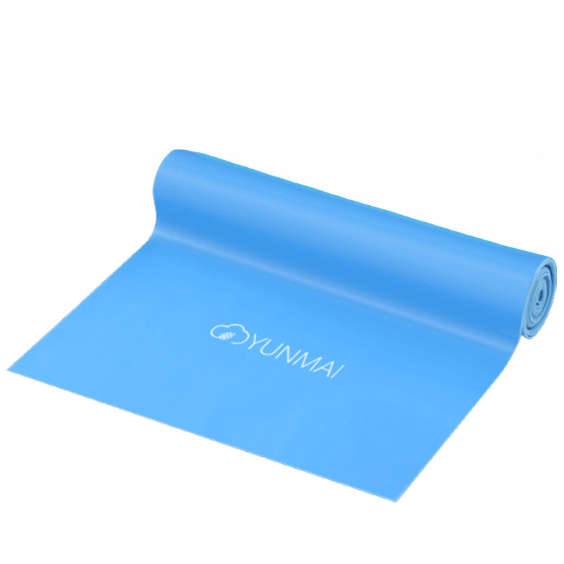 Эластичная лента для йоги и пилатеса Yunmai Stretch Belt 15lb (синий)