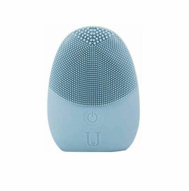 Аппарат для ультразвуковой чистки лица Xiaomi Jordan & Judy Silicone Facial Cleaner Синий