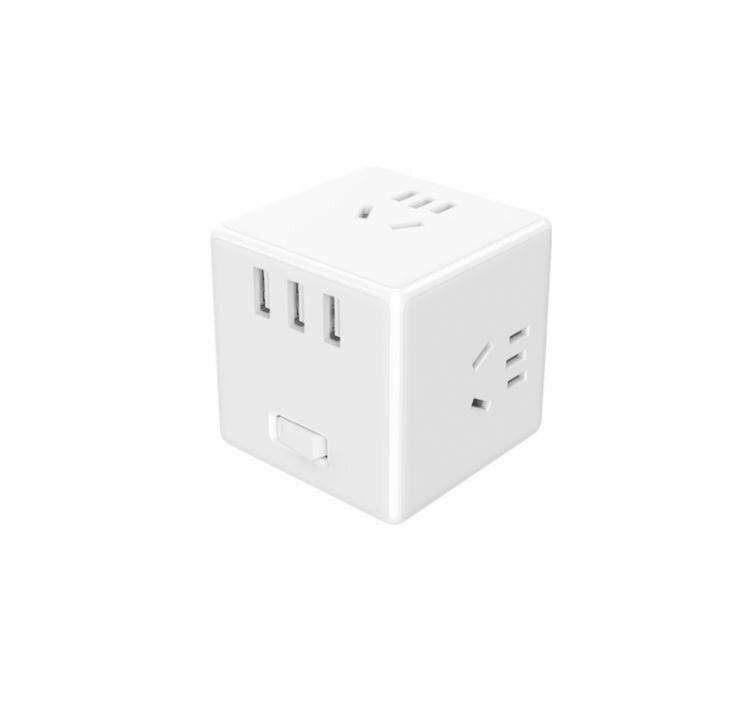Разветвитель Xiaomi Mijia Rubiks Cube Converter Wireless Edition White (MJCXB3-02QM)