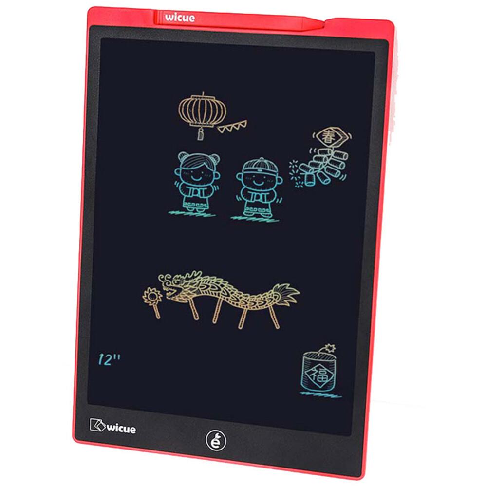 Детский планшет для рисования Wicue 12 inch Rainbow LCD Tablet WNB412 (цветная версия)