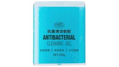 Чистящий антибактериальный гель Clean-n-Fresh Antibacterial Clean Gel (синий)