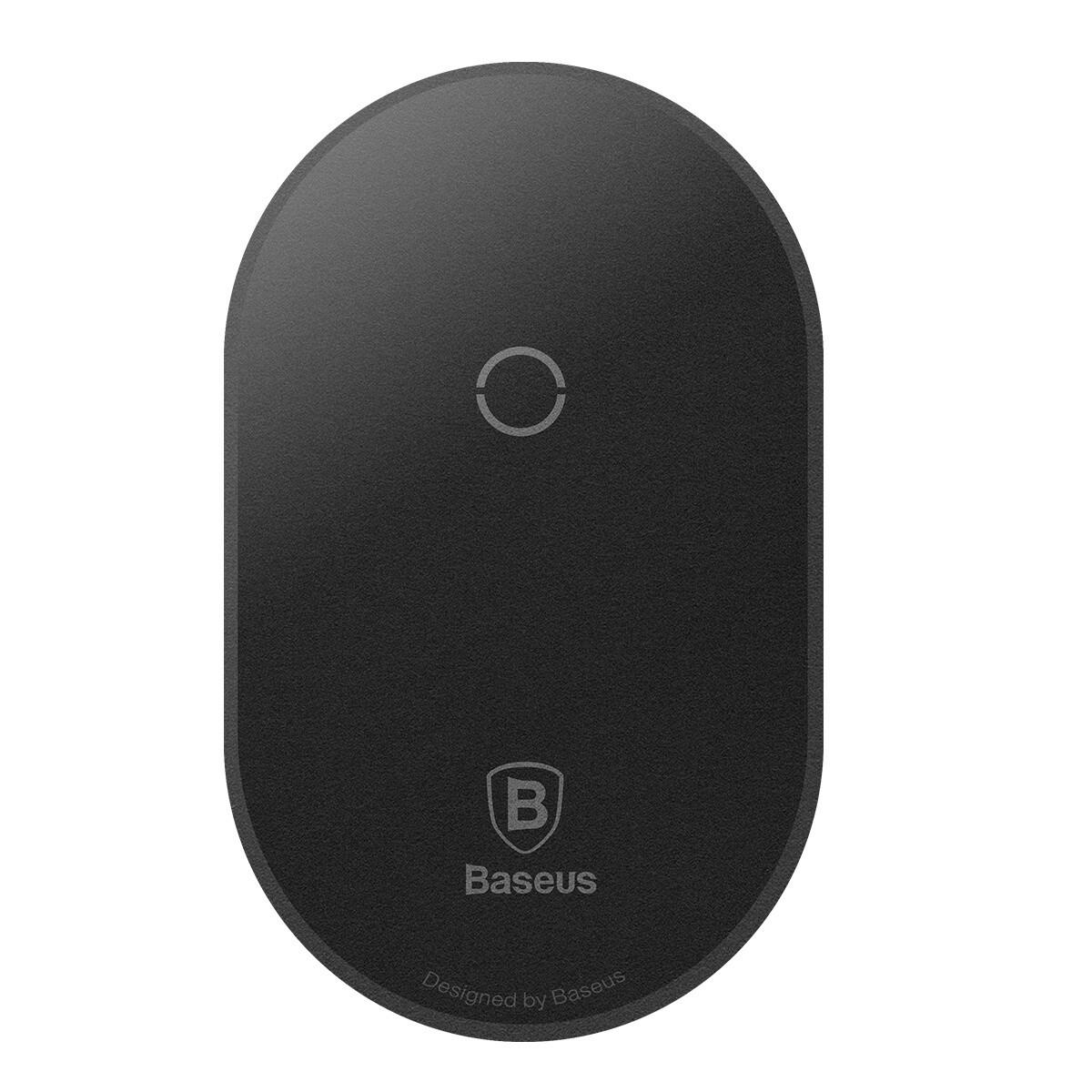 Беспроводное зарядное устройство Baseus Microfiber Qi (WXTE-C01) 5 W, black