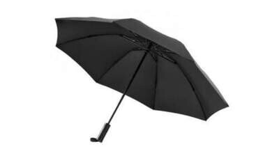 Зонт с фонариком Xiaomi 90 Points Automatic Umbrella With LED Flashlight черный