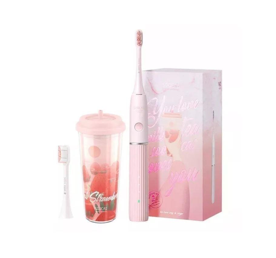 Электрическая зубная щетка SOOCAS V2 Pink