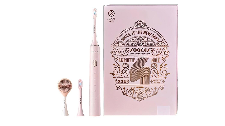 Зубная щетка электрическая Xiaomi Soocas X3U Sonic Electric Toothbrush Pink Set