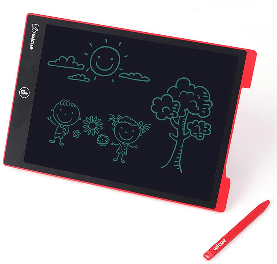 Детский планшет для рисования Wicue 12 inch Rainbow LCD Tablet WNB212 (одноцветная версия)