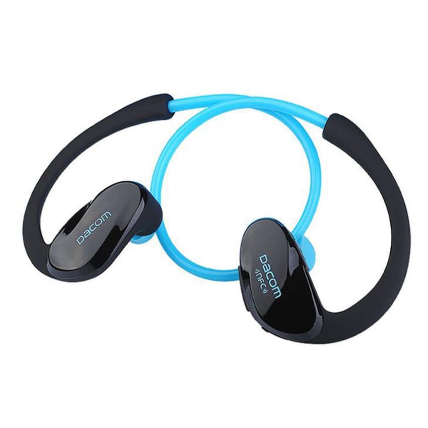 Наушники беспроводные DACOM Athlete NFC (G005) (Синий)