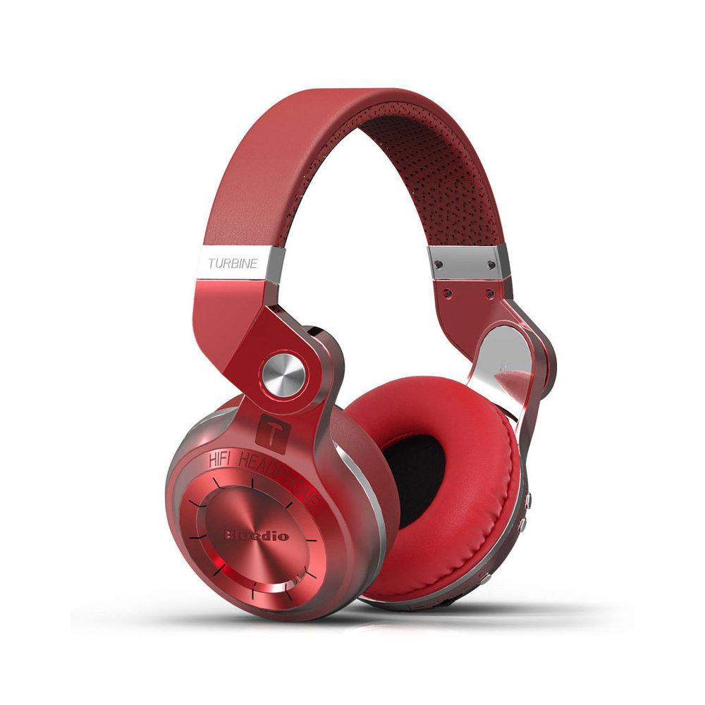 Беспроводные наушники Bluedio T2+ (Красный)