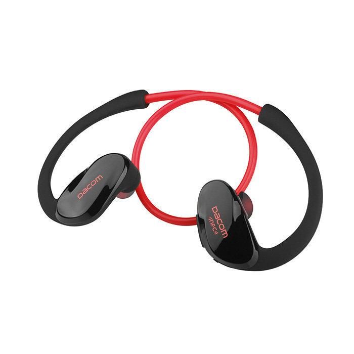 Наушники беспроводные DACOM Athlete NFC (G005) (Красный)