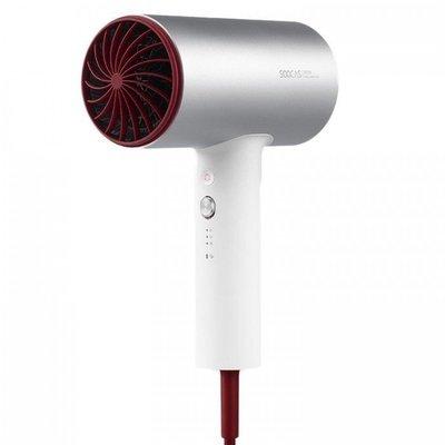 Фен Xiaomi Soocas Anions Hair Dryer (H3S)+диффузор (Серебристый)