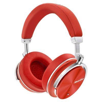 Наушники беспроводные Bluedio T4 (RED)