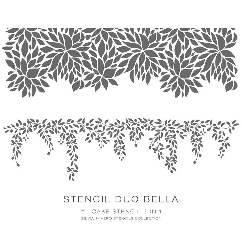 Stencil Duo Bella 2 en 1