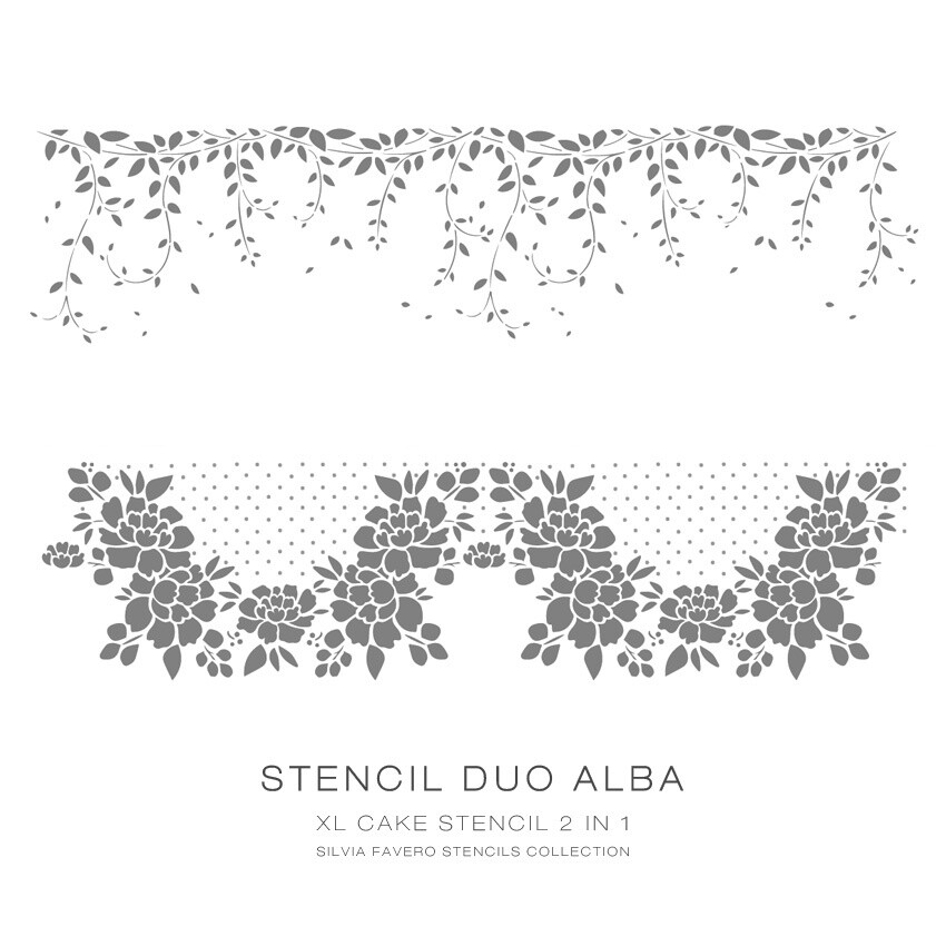 Stencil Duo Alba 2 en 1