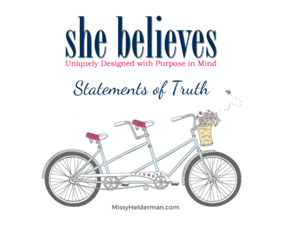 She Believes: Statements of Truth Cards