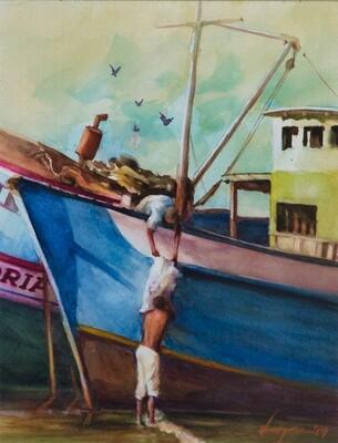 Roberto Vergara - Sin Titulo ( pescadores )