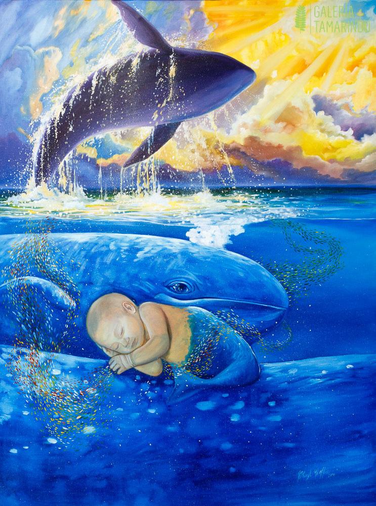 Cheryl Coffre - Durmiendo con ballenas