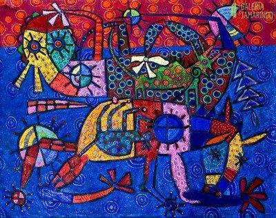Roosevelt Díaz Arosemena - Delirio de colores