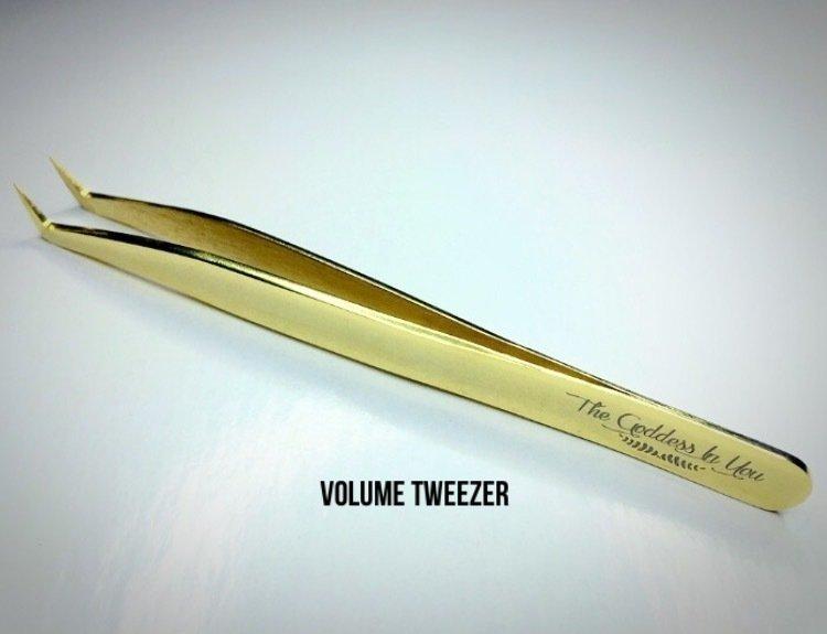 Gold Volume Tweezer