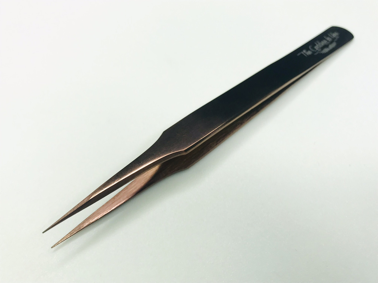 Rose Gold Straight Tweezers