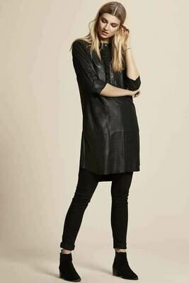 Culture Cualina Leather dress
