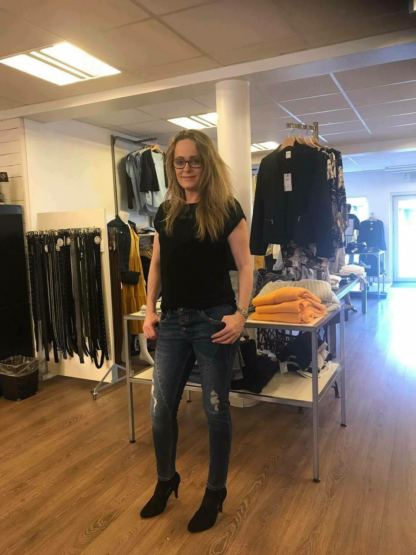 Jeans m/slid fra Pulz