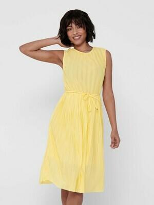Plisseret kjole fra only